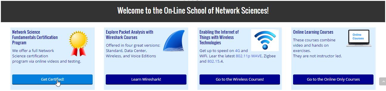 Network Science Certification Program Information: Certification ...